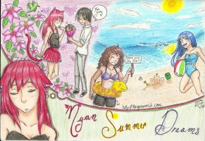 Nyan Summer Dreams by guardian-angel15