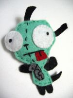 Gir felt badge by andricongirl