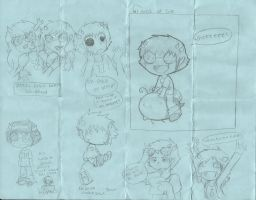 Homestuck Doodles YAY by Pixelized-Dj
