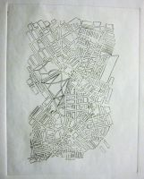 Cityscape Etch by aaronprovost