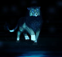 Blue Lion by Forever-Wolfy