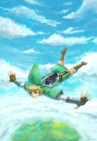 Skyward Sword by anokazue