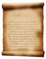 Oblivion Scroll by leifnicholz