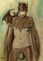 Bat Gyrl by Dubisch