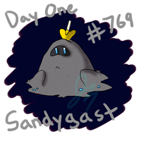 Pokecember 1: Fave Ground Type: Sandygast