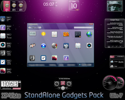 StandAlone Gadgets Pack by dncube