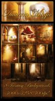 Autumn Magic backgrounds by moonchild-ljilja