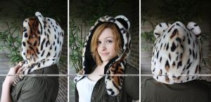 Tiger Hood (Orange, Half) by akiseo