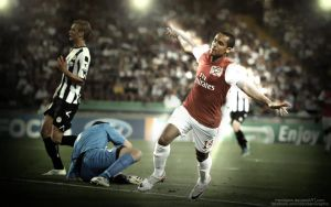 Theo Walcott Effect Wallpaper by Meridiann