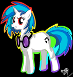 Vinyl Scratch by Gwebby
