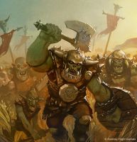 The Unending Horde by Cristi-B