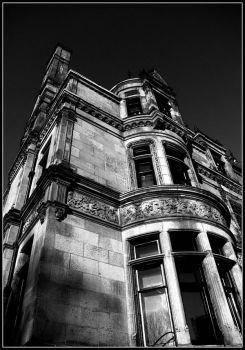 Black and White Brownstone by Ryser915