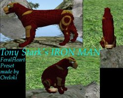 IronMan Preset For FeralHeart by Oreloki
