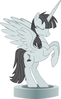 Outside Backgound Statue by Vector-Brony