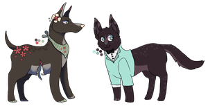 AUCTION - Collab adopts (closed) by DominoBear