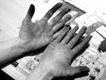 Working hands by Holly-Rosse