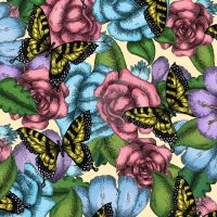 Flowers and Butterflies V3. Roses by Janelle-Dimmett