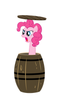 Where are you going? - Pinkie Pie by Nyax