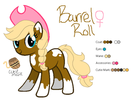 Barrel Roll - MLP:FiM OC by zafara1222