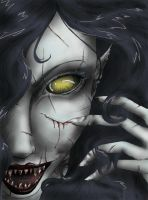 Vampire by MimaButtons
