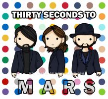 30 Seconds to Mars by koy-kartoon