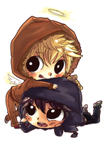 Crenny - Chibi Request by Dainisse