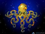 Angry Octo by Stephen-Coelho