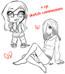 r.i.p. sketch commissions 2012 by RileyAV