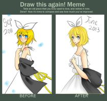 Before after meme 2 by dhiyamaghfira