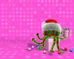 Christmas cat-o-puss 2007 by hoschie