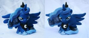 Chibi Luna Sculpture by Adlynh