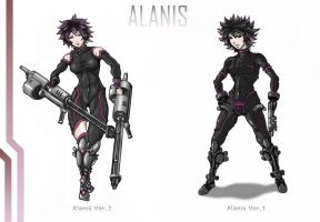 Alanis - Chrono Crisis Request by Hunter-Wolf