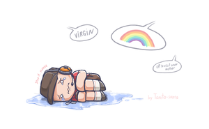 TF2 - Rainbows and boy's prolems by Tanita-sama