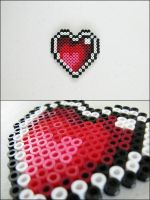 Link to the Past Heart Container magnet by 8bitcraft