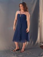 Blue Party Dress 8 by RLDStock