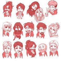 SNK Beard Edition by Redundantthoughts