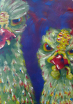 Angry Chickens by HardeHenk