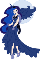 Humanized Princess Luna by Nstone53