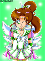 Miracle Sailor Jupiter by Sweet-Blessings