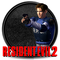 RE2 leon icono by Nacho94