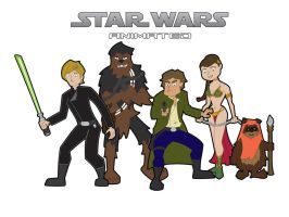 Star Wars RotJ Wallpaper by JK-Antwon