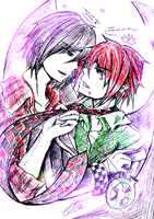 [Hiems Mansion] - I wanted to doodle... so I did by Daii--Kun