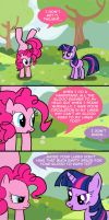 Pinkie's Handstand by Cartoon-Admirer