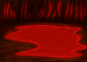 Cave of Blood Room by Annatiger1234