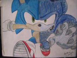 Sonic Unleashed by chelseaSMILEE
