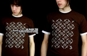 AK Bling Tee. by paperairplane