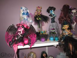Monster High Collection Update 1 by Childofwestwind