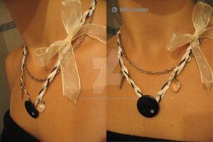 handmade ecklace by Unicorn92