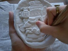 Godhead - Part 1 Unfinished by FireVerseCeramics