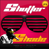 Shutter Shades by super-cwis